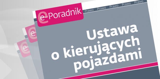 e-book: Ustawa o kierujących pojazdami