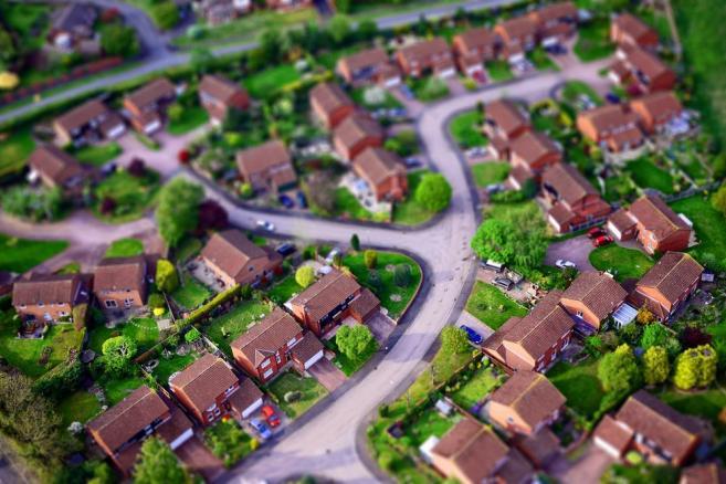 Osiedle, domy jednorodzinne