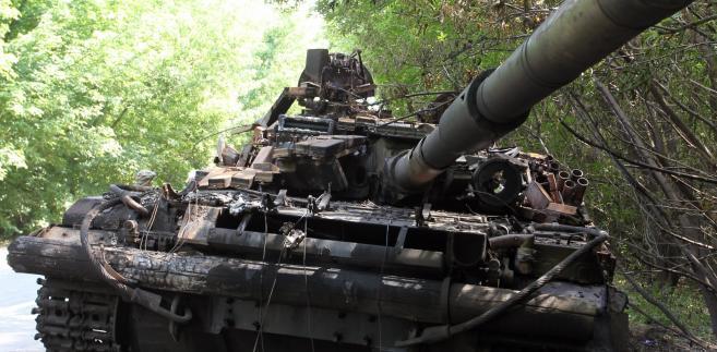 Ukraińska armia jest ostrzeliwana z terytorium Rosji EPA/IGOR KOVALENKO