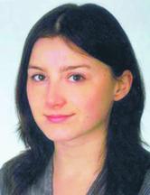 Aleksandra Partyk prawnik, asystent sędziego w Sądzie Rejonowym dla Krakowa-Podgórza, w wydziale rodzinnym i nieletnich