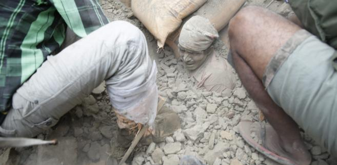 Trzęsienie ziemi w Nepalu - zobacz zdjęcia