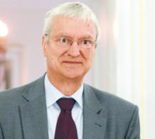 Prof. Michał Kleiber, wiceprezes Europejskiej Akademii Nauk i Sztuk, profesor w PAN
