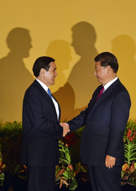 "<span lang=""EN-US"" xml:lang=""EN-US"">Chińczyk Ma Ying Jeou i Tajwańczyk Xi Jinping</span>"