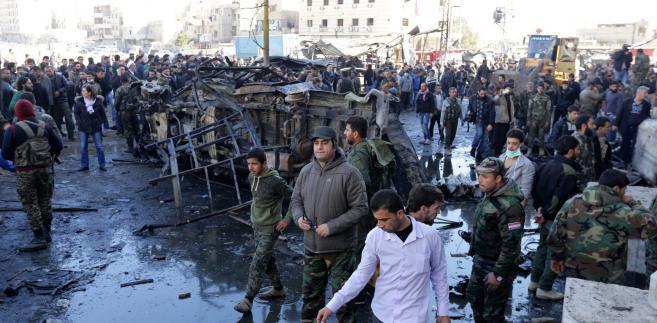 Zamach w dzielnicy Sayeda Zeinaba w Damaszku.