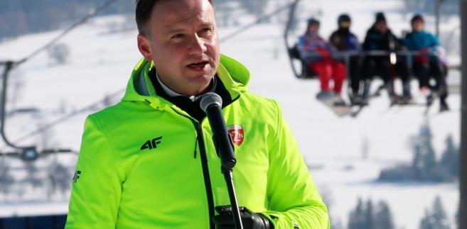 Prezydent Andrzej Duda,
