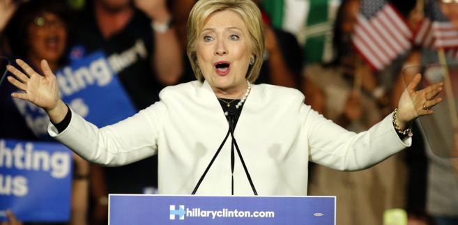 Hillary Clinton w Miami