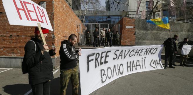 Zgromadzenie ws. uwolnienia Sawczenko