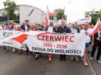 Poznań: Manifestacja KOD w 60. rocznicę Czerwca '56