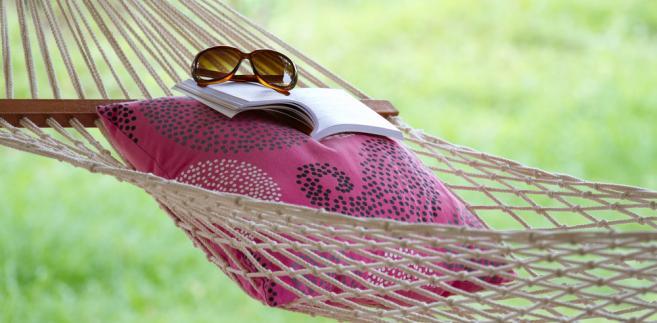 książka, wakacje