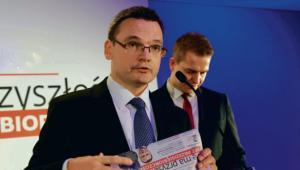 Redaktor naczelny DGP Krzysztof Jedlak i jego zastępca Marek Tejchman