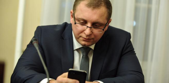 Dr Michał Warciński podczas posiedzenia sejmowej komisji sprawiedliwości i praw człowieka