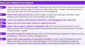 Słowniczek unijnych baz danych