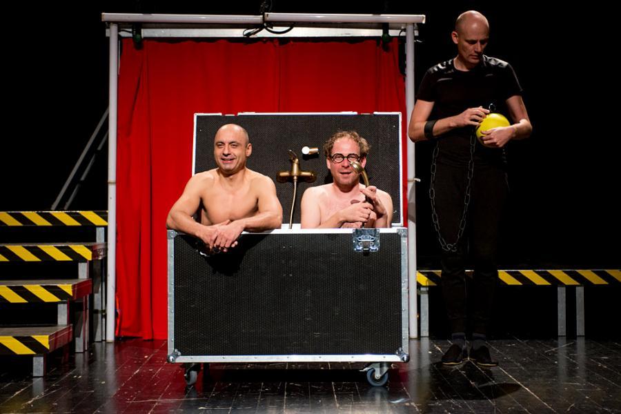 """""""Quo vadis"""" to klasyka w wykonaniu Teatru Montownia, fot. Bartosz Siedlik"""