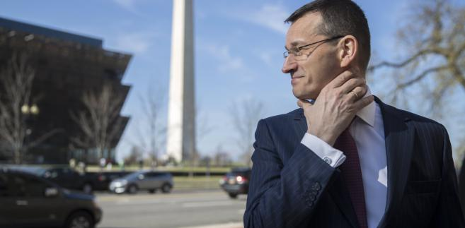 Mateusz Morawiecki w Waszyngtonie