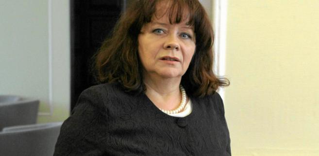 Barbara Kudrycka wiceprzewodnicząca Komisji Wolności Obywatelskich, Sprawiedliwości i Spraw Wewnętrznych w Parlamencie Europejskim