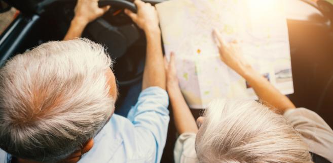 kierowca mapa