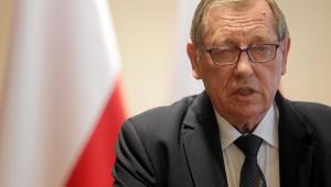 Minister Szyszko to zwolennik drewna energetycznego i biomasy