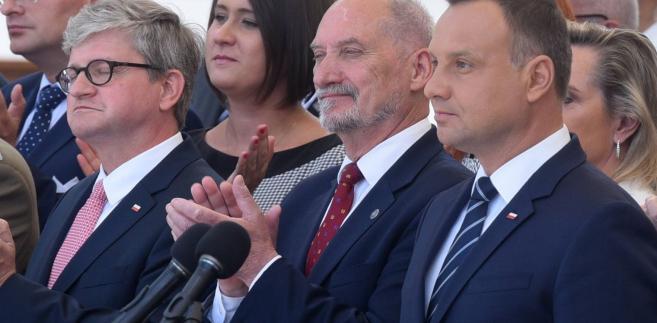 Paweł Soloch, Antoni Macierewicz i Andrzej Duda