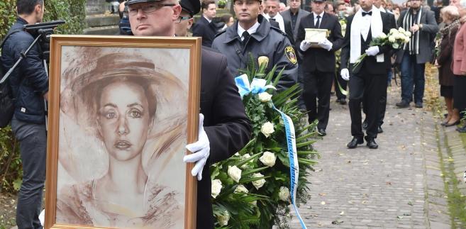 Uroczystości pogrzebowe Anny Szałapak na Cmentarzu Rakowickim w Krakowie