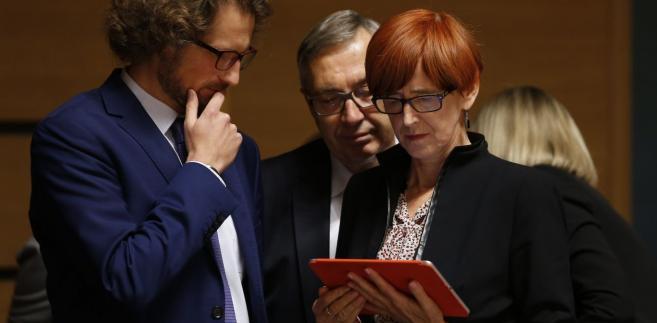 Jak oceniła, spekulacje o tym, którzy ministrowie opuszczą rząd, są przedwczesne