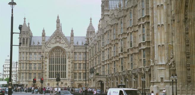 Budynek parlamentu Wielkiej Brytanii