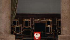 Pusta loża prezydencka