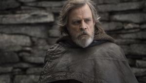 """Mark Hamill jako Luke Skywalker w filmie """"Gwiezdne wojny: Ostatni Jedi"""" (2017)"""