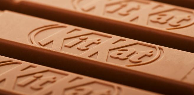 Nestle domagało się ochrony prawnej dla kształtu batoników Kit Kat