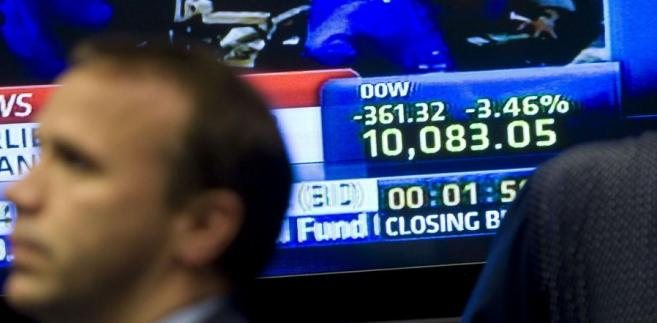 Na zamknięciu Dow Jones Industrial spadł o 1,14 proc. do 12.411,31 pkt.