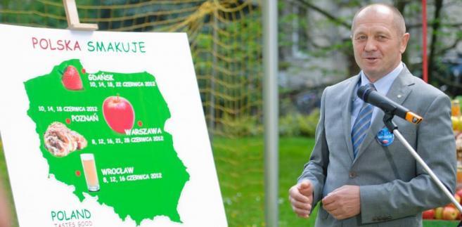 Minister rolnictwa Marek Sawicki.