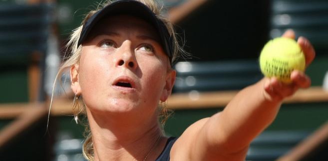 Rosyjska tenisistka Maria Sharapova