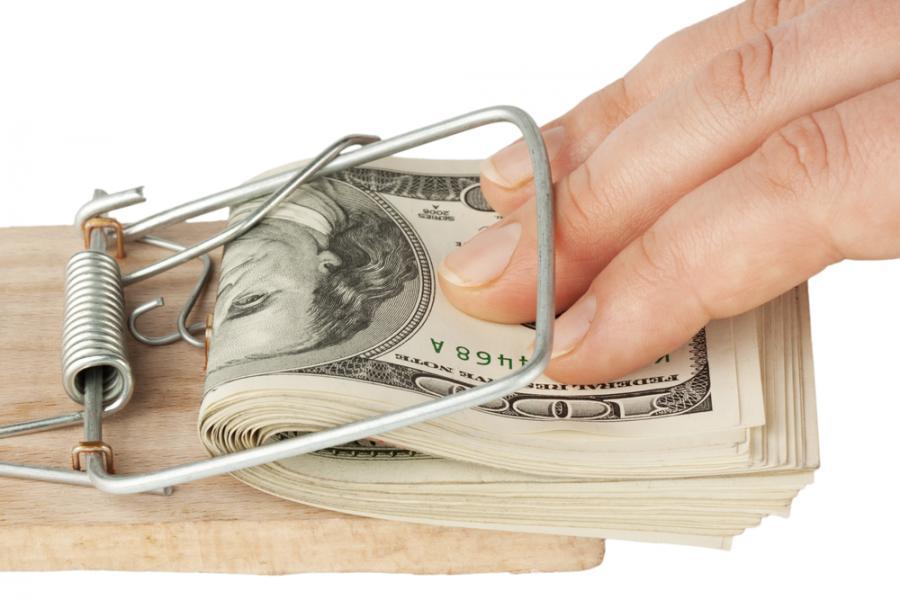 pieniądze, pułapka, kredyty