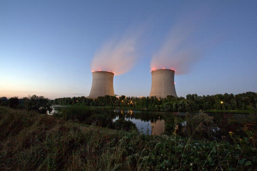 Elektrownia atomowa.