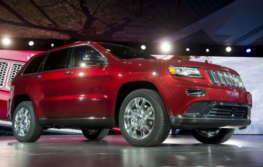 North American International Auto Show 2013: 2014 Jeep Grand Cherokee