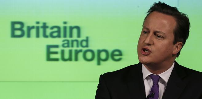 Premier David Cameron nie stroni od tej odpowiedzialności