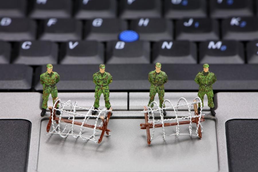 komputer, wojsko, internet
