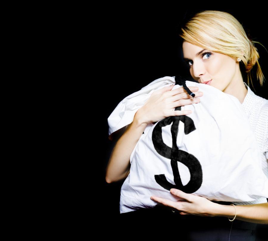 pieniądze, biznes, dolary, bank