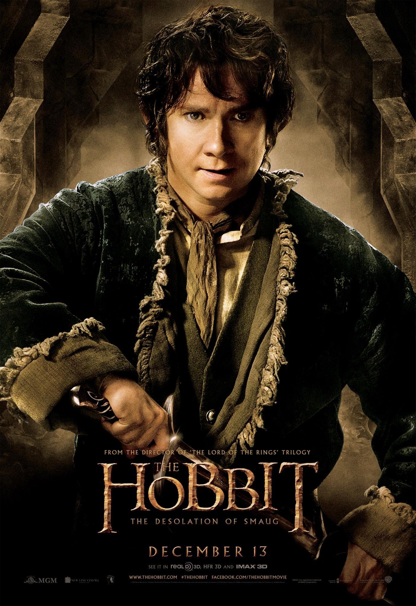 """Hobbit: Pustkowie Smauga"" Bilbo Baggins"