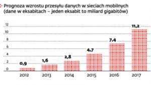 Użytkownicy internetu generują coraz większy ruch w sieci
