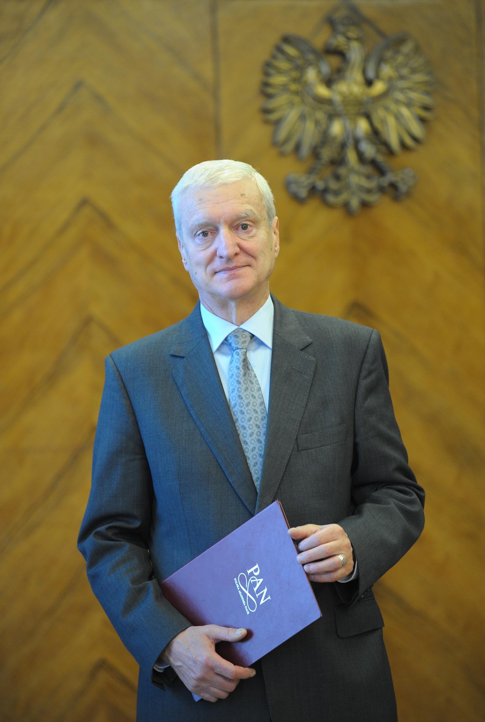 prof. Michał Kleiber, Prezes PAN