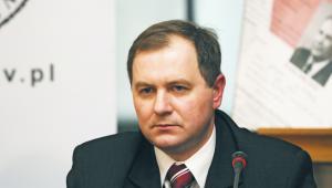 Dr Dariusz Gabrel, zastępca prokuratora generalnego, dyrektor Głównej Komisji Ścigania Zbrodni przeciwko Narodowi Polskiemu