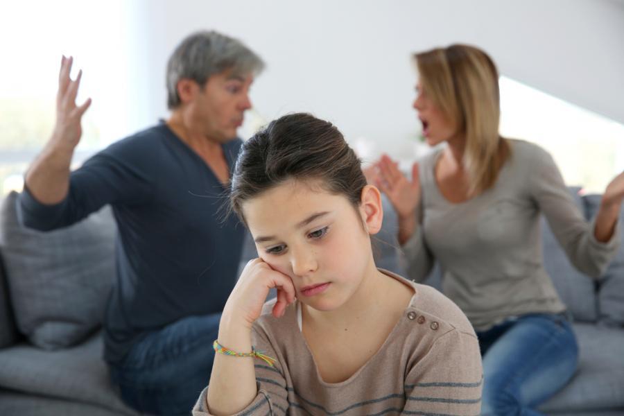 rodzice, dziecko, kłótnia