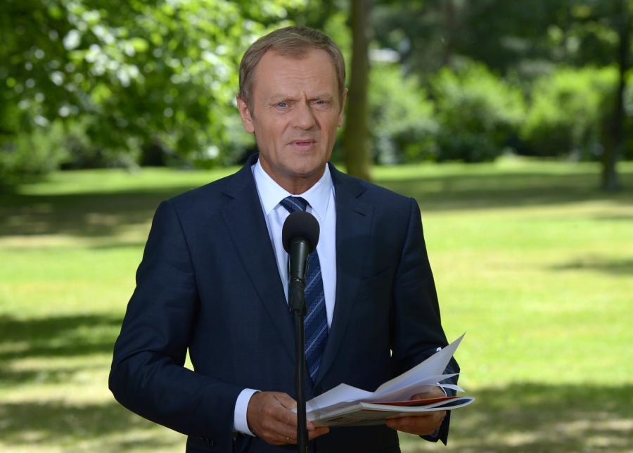 Premier Donald Tusk. Fot. PAP/Radek Pietruszka