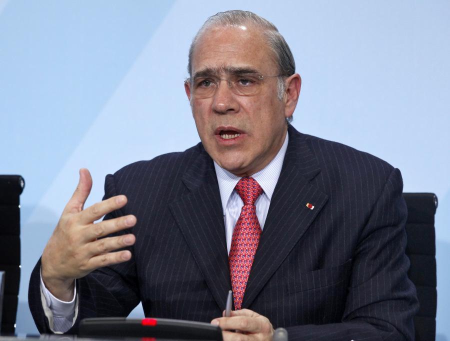 Angel Gurria, sekretarz generalny OECD