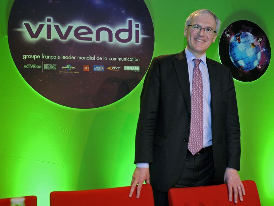 Jean-Bernard Levy, prezes koncernu medialnego Vivendi