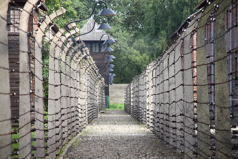 Auschwitz, By Pankrzysztoff (Own work) [CC-BY-SA-3.0-pl (http://creativecommons.org/licenses/by-sa/3.0/pl/deed.en)], via Wikimedia Commons
