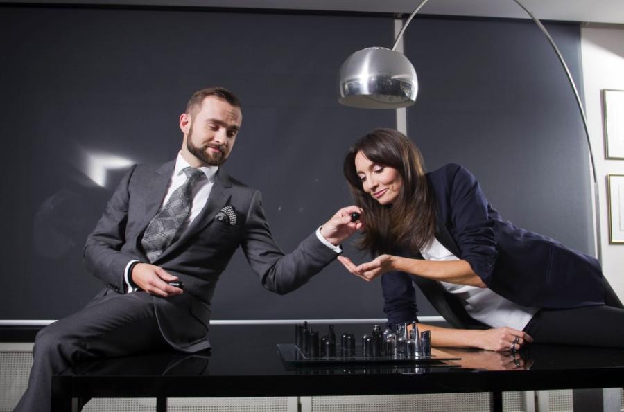 Sebastian i Dominika Kulczykowie