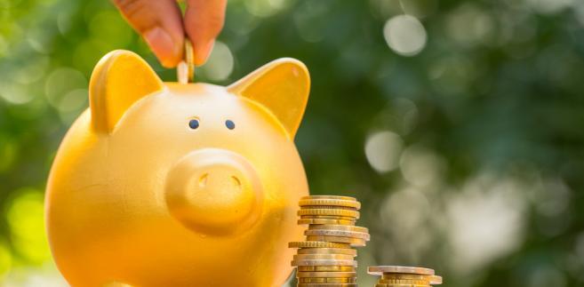 Zwiększaniu oszczędności sprzyja wysoki wzrost gospodarczy