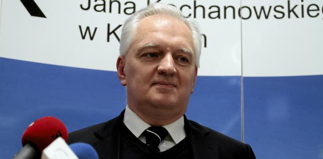 Gowin: Wzrost gospodarczy należy uzależniać od zasobów polskiej nauki