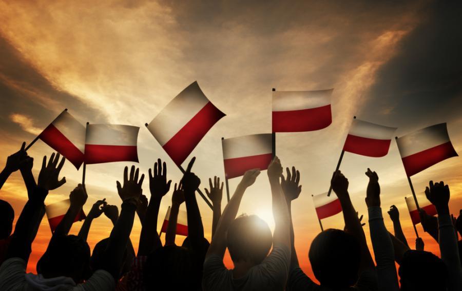 Polska, Polacy, flagi